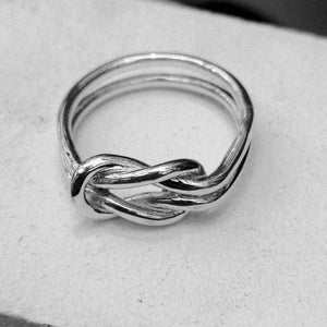 Reef Knot Ring - Doyle Design Dublin