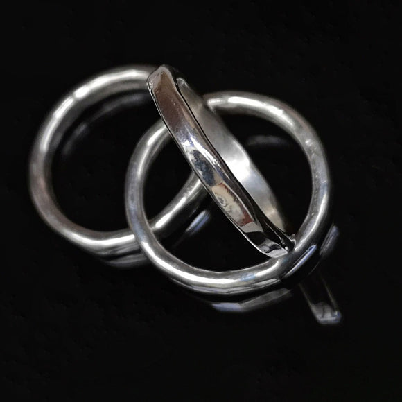 Stackers- set of 3 stacking rings - Doyle Design Dublin