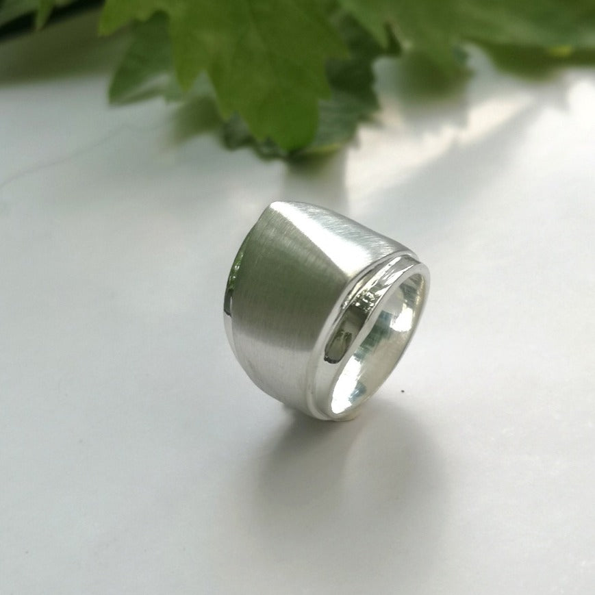 Angles Ring - Silver - Doyle Design Dublin