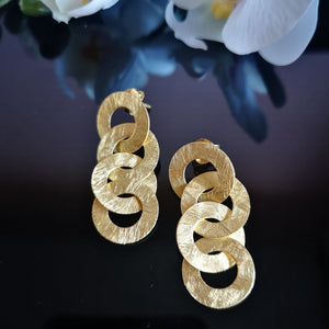 Linked Drop Earrings - Doyle Design Dublin