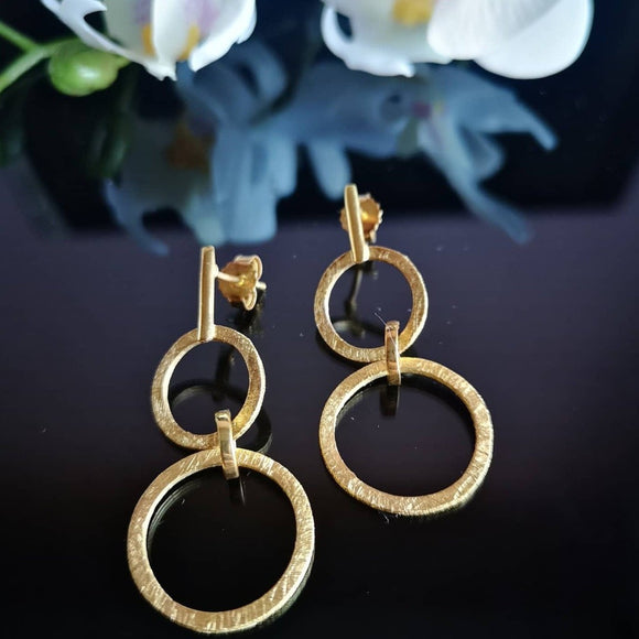 Ringed Earrings - Doyle Design Dublin