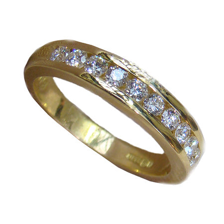 Eternity Ring with Channel Set Diamonds (.50Ct) - Doyle Design Dublin