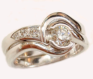 Engagement & Fitted Wedding Ring Set