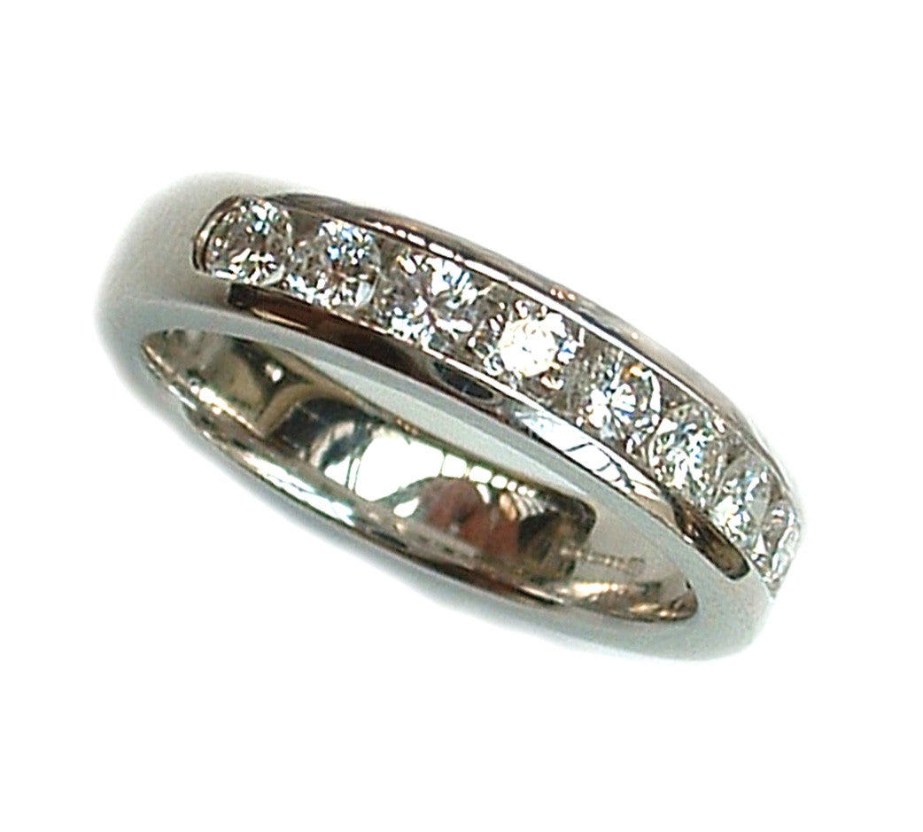 Half Carat Diamond Eternity Ring
