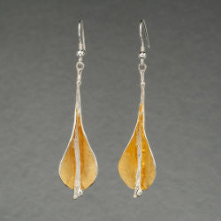22ct Gold Vermeil Lilly Earrings