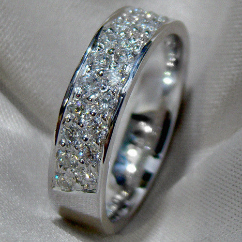Diamond Pavé Set Ring - Doyle Design Dublin