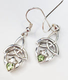 Trinity Knot Claddagh Earrings - Doyle Design Dublin