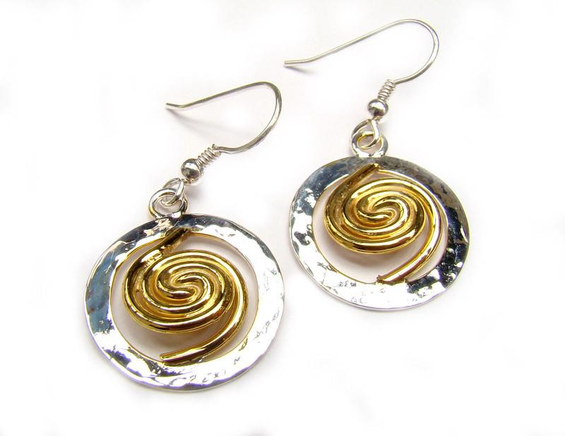 Celtic handmade earrings
