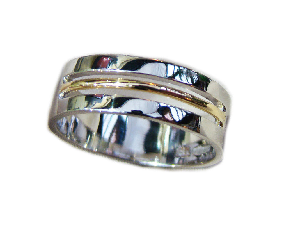 gents handmade wedding ring