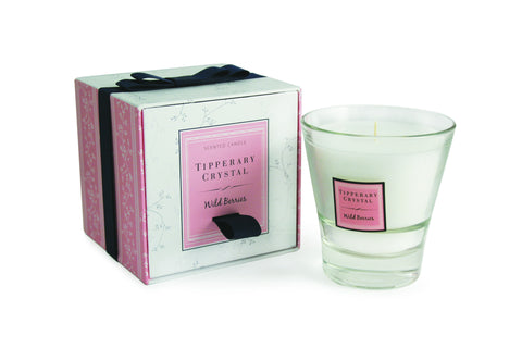 Tipperary Crystal Wild Berries Candle