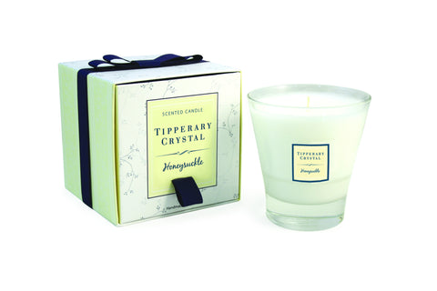 Tipperary Crystal Honeysuckle Candle