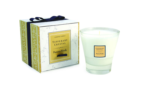 Tipperary Crystal Precious Woods Candle