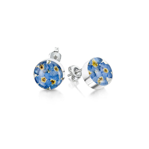 Shrieking Violet Forget Me Not Ear Ring