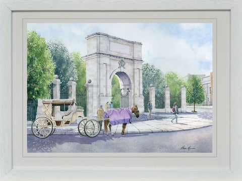 FUSILIERS ARCH REPRODUCTION IRISH ART WORK