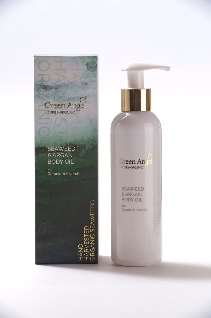 Green Angel Argan Body Oil 200ml