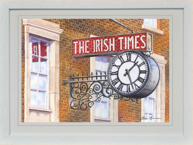 IRISH TIMES REPRODUCTION IRISH ART WORK