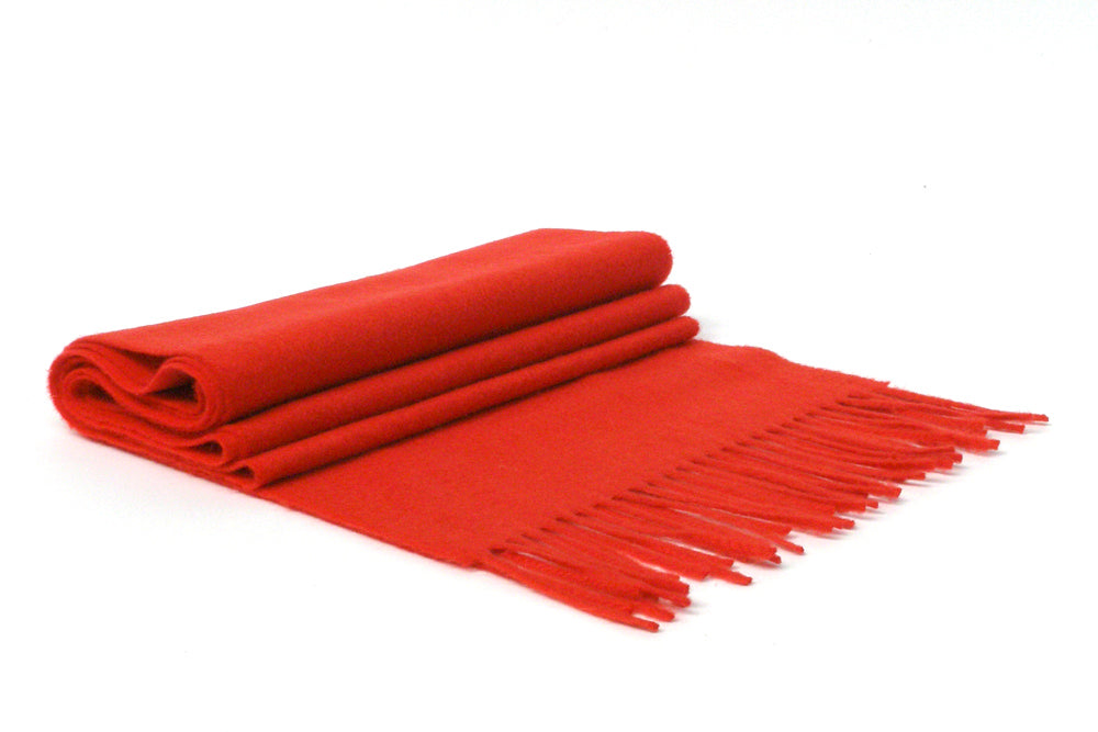 Cashmere Red Scarf