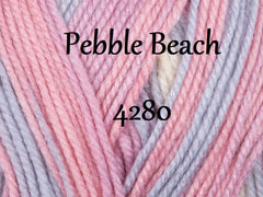 King Cole Beaches DK Pattern 5427 - Ladies Sweater & Wrap