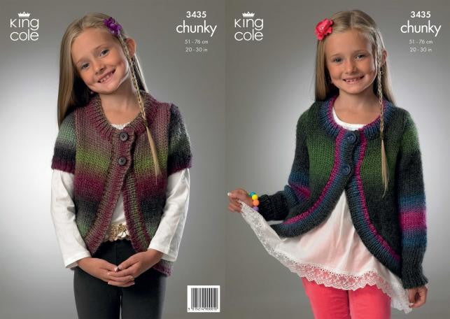 King Cole Riot Chunky Pattern 3435