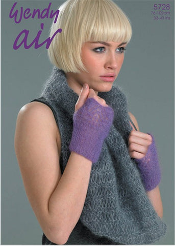 Wendy Air Knitting Pattern 5728
