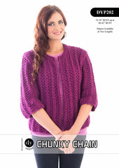Designer Yarns Choice Pattern DYP202 - REDUCED TO €1