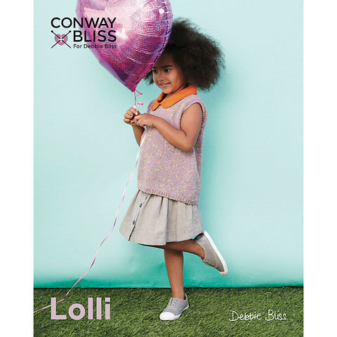 Conway + Bliss Lolli Pattern CB018 - Collared Sleeveless Top - WAS €4.50 - NOW €1.00