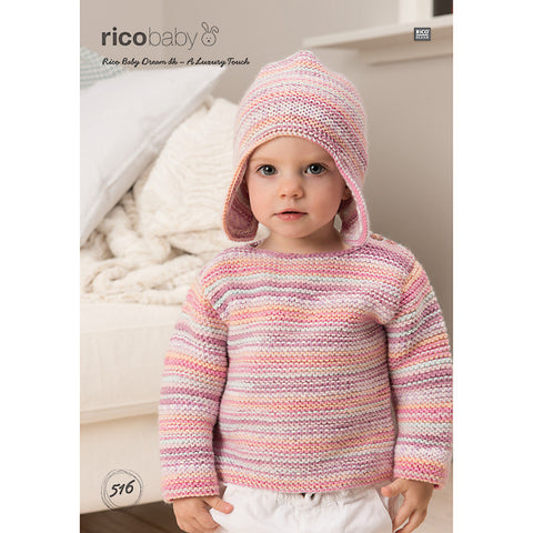 Rico Baby Dream DK - A Luxury Touch Pattern 516 - Hat & Sweater