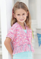 Sirdar Snuggly Jolly DK Pattern 2464 - Girls Cardigans - NOW 1.00