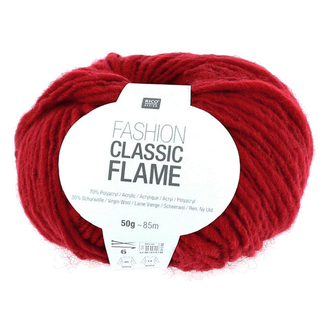 Rico Fashion Classic Flame Chunky