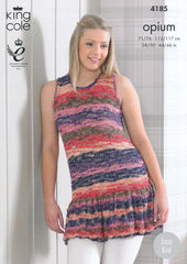 King Cole Opium Palette Pattern 4185 - Summer Tops
