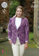 King Cole Big Value Tonal Chunky Pattern 4883 - Jackets