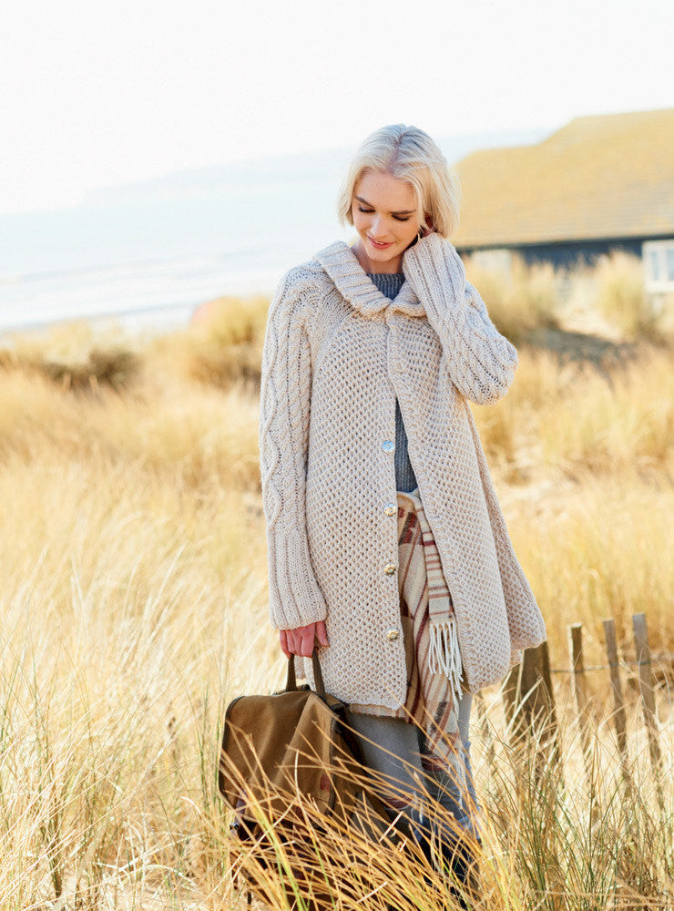 Rico Essentials Alpaca Blend Chunky Pattern 345 - Coat