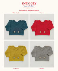 Sirdar Snuggly 100% Cotton Pattern 5268 - Boys Car Jumper