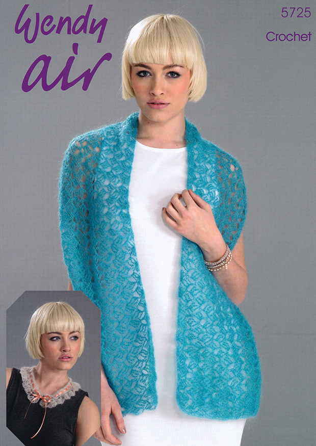 Wendy Air Crochet Pattern 5725