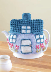 Sirdar Country Style DK Pattern - 7221 Crochet & Knit Teacosies