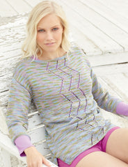 Sirdar Cotton Prints DK Pattern 7766 - Tops