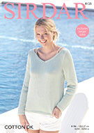 Sirdar Cotton DK Pattern 8125 - Sweater