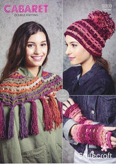 Stylecraft Cabaret DK - Pattern 9303  - Crochet Accessories