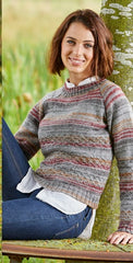 Stylecraft Life Vintage Look  & Life DK Pattern 9461 - Cardigan & Sweater