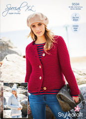 Stylecraft Special XL Super Chunky Pattern 9594 -  Cardigans