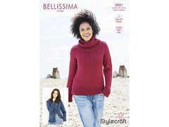Stylecraft Bellissima Chunky Pattern 9691- Sweater & Cardigan