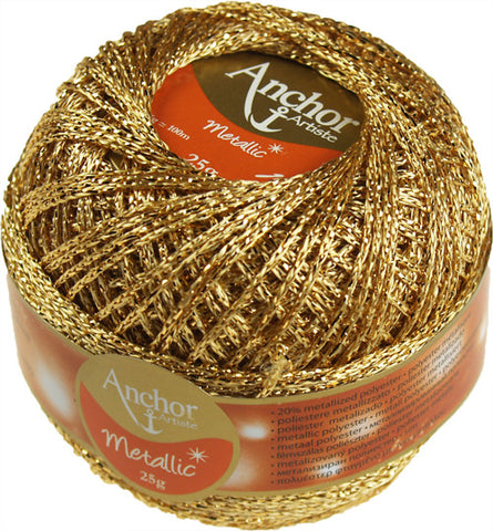 Anchor Artiste Metallic Yarn