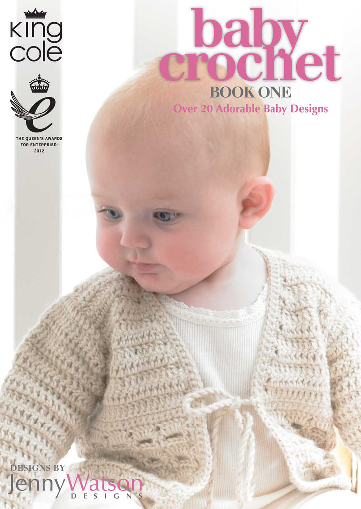 King Cole Baby Crochet Book 1
