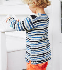 Debbie Bliss Rialto DK Print Pattern DB067 - Cable Detail Sweater - WAS €4.50 - NOW €2.50