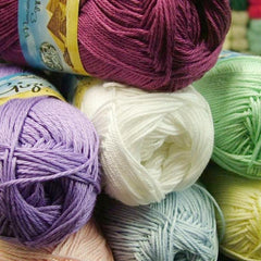 King Cole Giza Cotton 4 ply