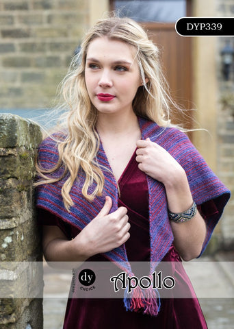 Designer Yarns Choice Apollo DK Pattern DYP339 - Shawl - NOW 1.00