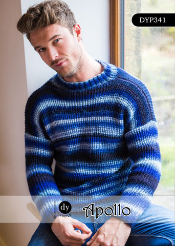 Designer Yarns Choice Apollo DK Pattern DYP341 - Sweater - NOW 1.00