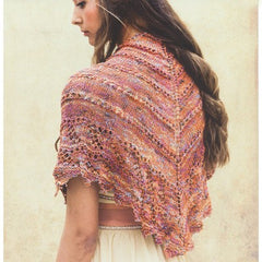 Louisa Harding Noema Pattern L104 Farfalla - Lace Triangle Shawl - WAS €4.50 - NOW €2.50