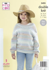 King Cole Beaches DK Pattern 5425 - Sweaters