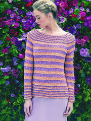 Louisa Harding Azalea Pattern L6-02 - Marigold Sweater - WAS €4.50 - NOW €2.50